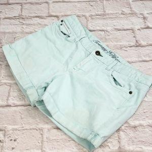 Tommy Hilfiger Light Green  Jeans Shorts size 8